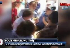 Polisi iten CHPli başkan yardımcısına soruşturma