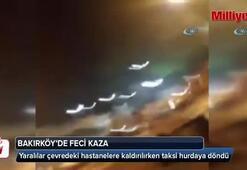 Bakırköy'de kaza: 2'si ağır 3 yaralı