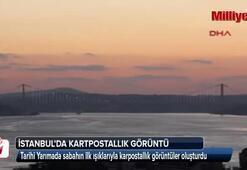 İstanbulda kartpostallık görüntü