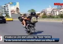 İstanbul'un lüks semtlerinde tek teker terörü kamerada
