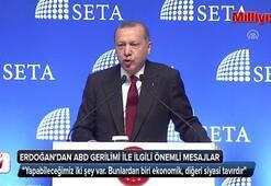 Cumhurbaşkanı Erdoğan: Şimdi bodoslama şekilde üzerimize geliyorlar