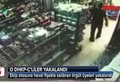 Polis otosuna saldıran DHKP-C'liler yakalandı