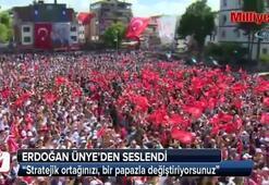Erdoğan'dan ABD'ye: NATO'daki stratejik ortağınızı...