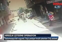 2 kişiyi yaralayan hırsızlık çetesine operasyon