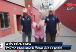 PKK/KCK operasyonunda Mauser silah ele geçirildi