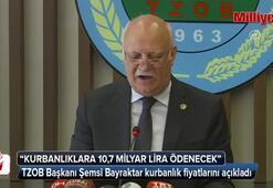 TZOB Başkanı Bayraktar kurbanlık fiyatlarını açıkladı