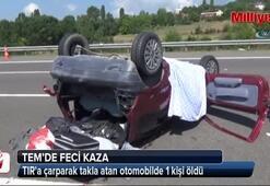TEMde feci kaza: 1 ölü, 4 yaralı