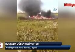 Rusyada düşen helikopterin kara kutusu açıldı