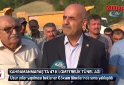 Kahramanmaraş'a 47 kilometrelik tünel ağı