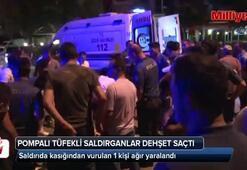 Ankara'da pompalı tüfekli saldırganlar dehşet saçtı: 3 yaralı