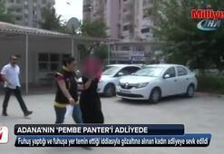 Adana'nın Pembe Panteri yakalandı
