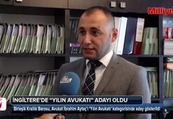 """Türk hukukçu, İngiltere'de """"yılın avukatı"""" adayı oldu"""