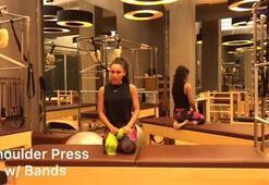 Pilates ile daha güzel omuzlar için Shoulder Press