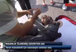 İstanbulda insanlık ölmemiş dedirten an