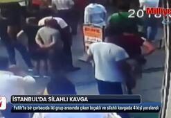 Fatih'te çorbacıdaki kavgada kan aktı
