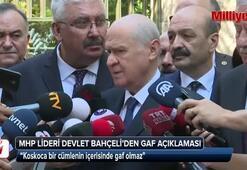 MHP lideri Bahçeliden Koray Aydın açıklaması