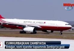 Cumhurbaşkanı Erdoğan, Zambiya'da