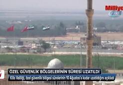 Kiliste özel güvenlik bölgelerinin süresi 15 gün uzatıldı