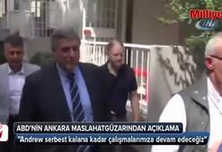 ABDnin Ankara Maslahatgüzarından Brunson açıklaması