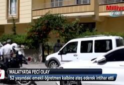 Emekli öğretmen pompalı tüfekle intihar etti