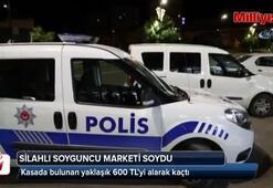 Sivas'ta silahlı soyguncu marketi soydu