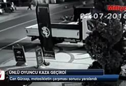 Ünlü oyuncu Can Gürzap trafik kazası geçirdi