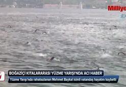 Boğaziçi Kıtalararası Yüzme Yarışında üzücü haber