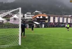 İmmobileden antrenmanda klas gol