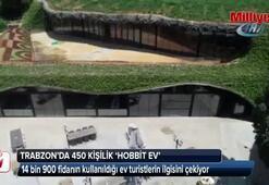 Trabzon'da 450 kişilik Hobbit evi yapıldı