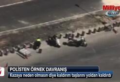 Mardin polisinden örnek davranış