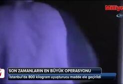 Eroinden Yüz Kat Daha Zararlı 800 kilo uyuşturucu madde ele geçirildi