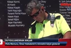 Polis Memuru, Ömer Halisdemire minnetini böyle gösterdi