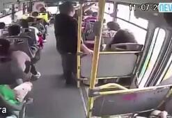 Korkunç kazada yolcular dehşeti yaşadı