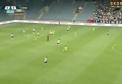 Beşiktaştan tatsız prova 1-4...