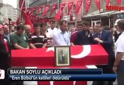 Eren Bülbülü şehit eden teröristler öldürüldü