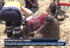 İznik Gölü iki kız çocuğuna mezar oldu