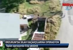 Erzurum'da silah kaçakçılarına operasyon