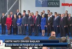 Kritik NATO zirvesi başladı