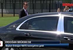 Başkan Erdoğan NATO karargahına geldi