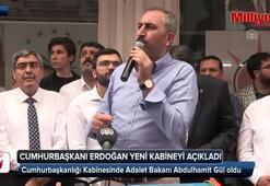 Adalet Bakanı Abdülhamit Gül oldu