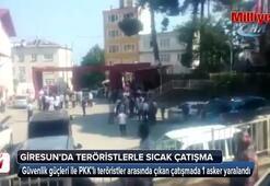 Giresun'da teröristler ile sıcak çatışma