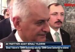 AK Partinin adayı Binali Yıldırım oldu