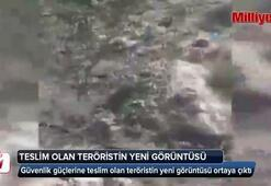 Teslim olan teröristin yeni görüntüsü ortaya çıktı