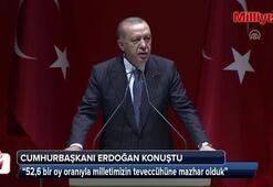 Cumhurbaşkanı Erdoğan, partisinin İl Başkanları Toplantısında konuştu