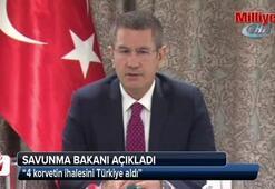 4 korvetin ihalesini Türkiye aldı