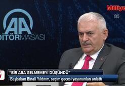 Başbakan Binali Yıldırım, seçim günü yaşananları anlattı