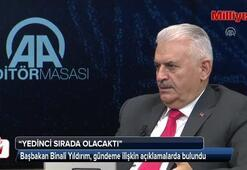 Başbakan Binali Yıldırım, gündeme ilişkin açıklamalarda bulundu