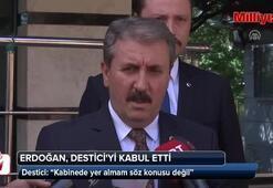 BBP Genel Başkanı Destici: Kabinede yer almam söz konusu değil