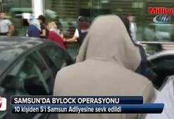 Samsunda ByLocktan 5 kişi adliyeye sevk edildi