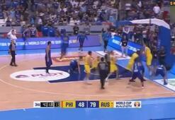 Basketbol Maçında İnanılmaz Kavga